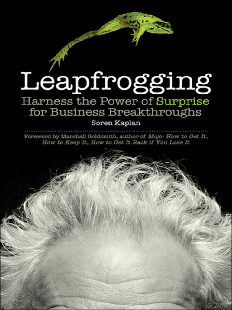 Leapfrogging-Harness the Power of Surprise for Business Breakthroughs