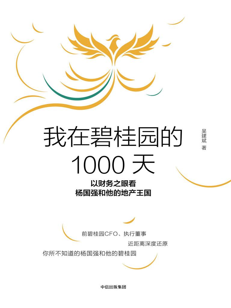 我在碧桂园的1000天:以财务之眼看杨国强和他的地产王国