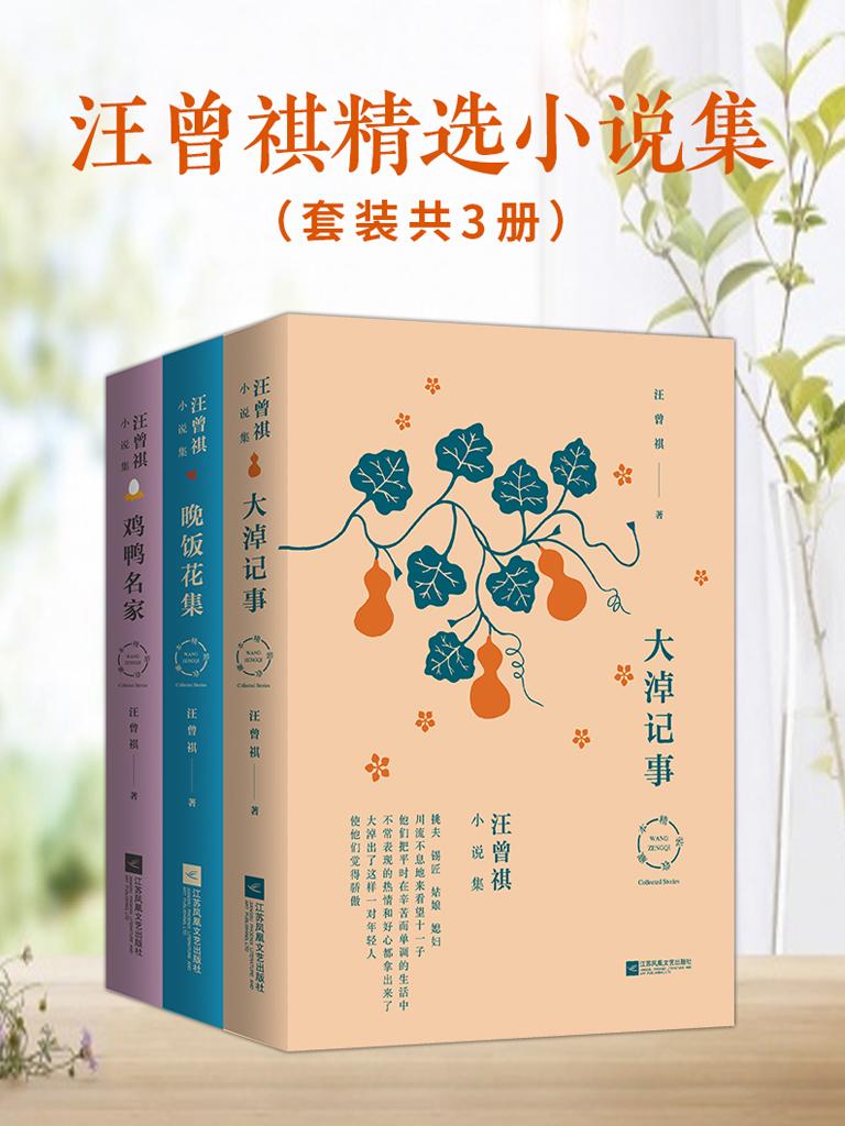 汪曾祺精选小说集(共三册)