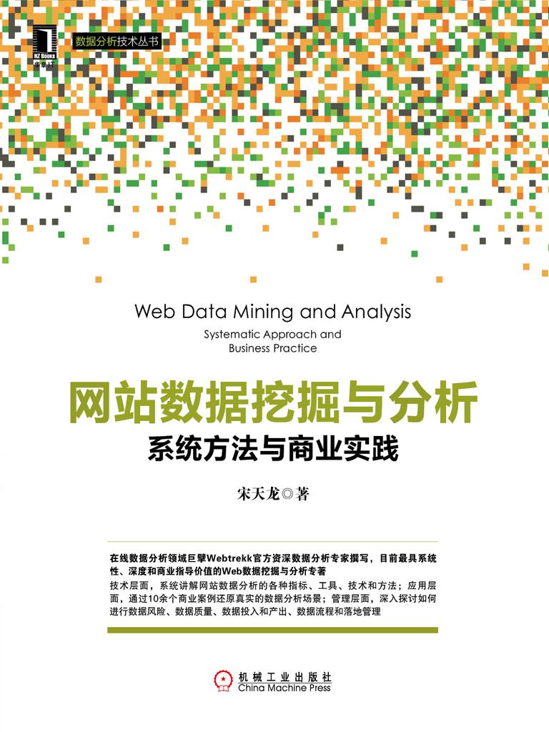 网站数据挖掘与分析:系统方法与商业实践