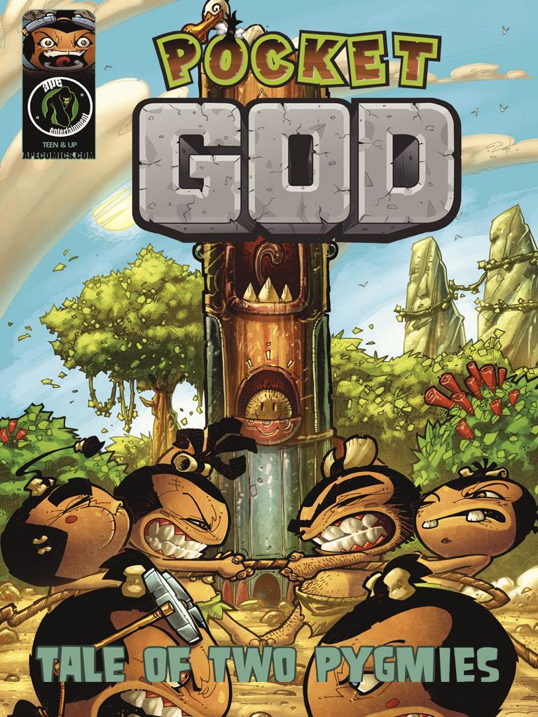 口袋上帝 Pocket God: Tale of Two Pygmies(英文版)
