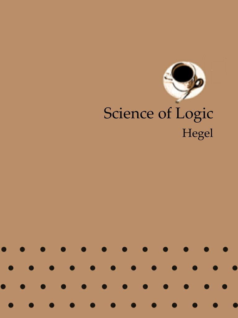 Science of Logic