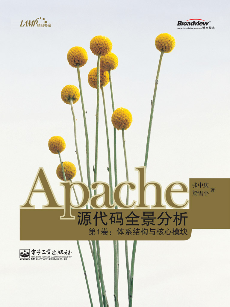 Apache源代码全景分析第1卷:体系结构与核心模块