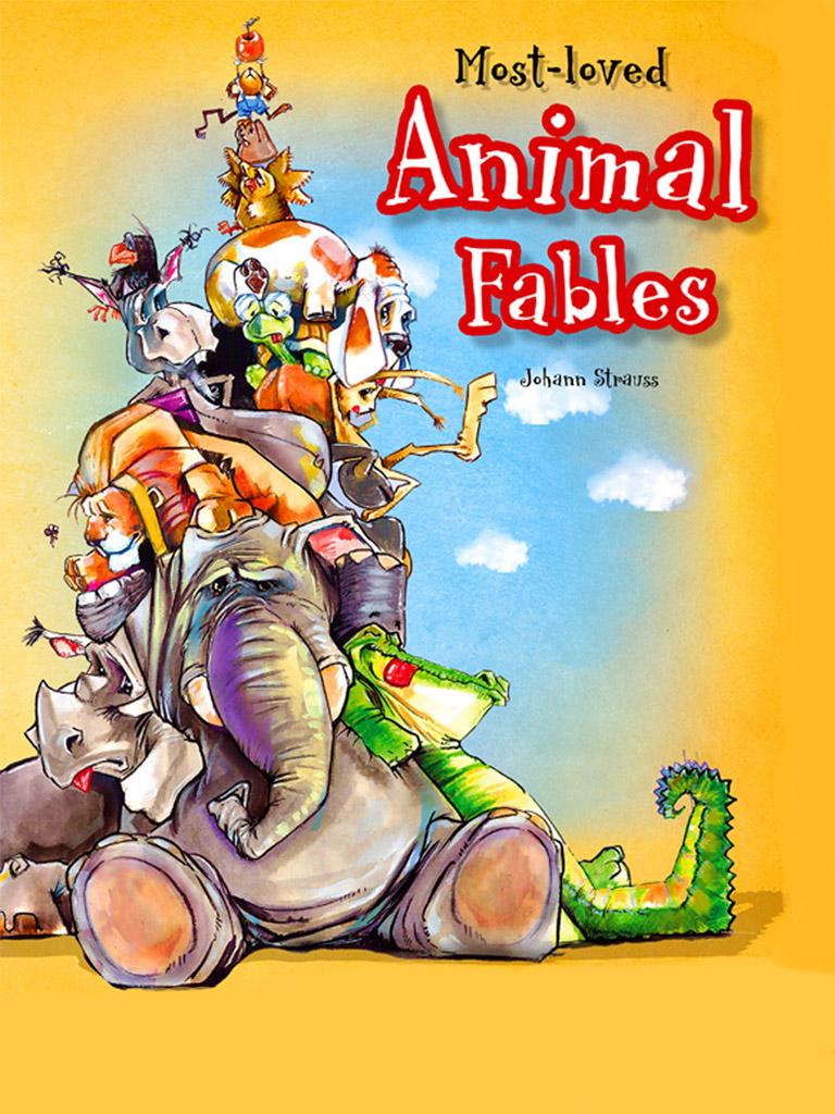 最喜欢的动物寓言 Most-loved Animal Fables(英文版)