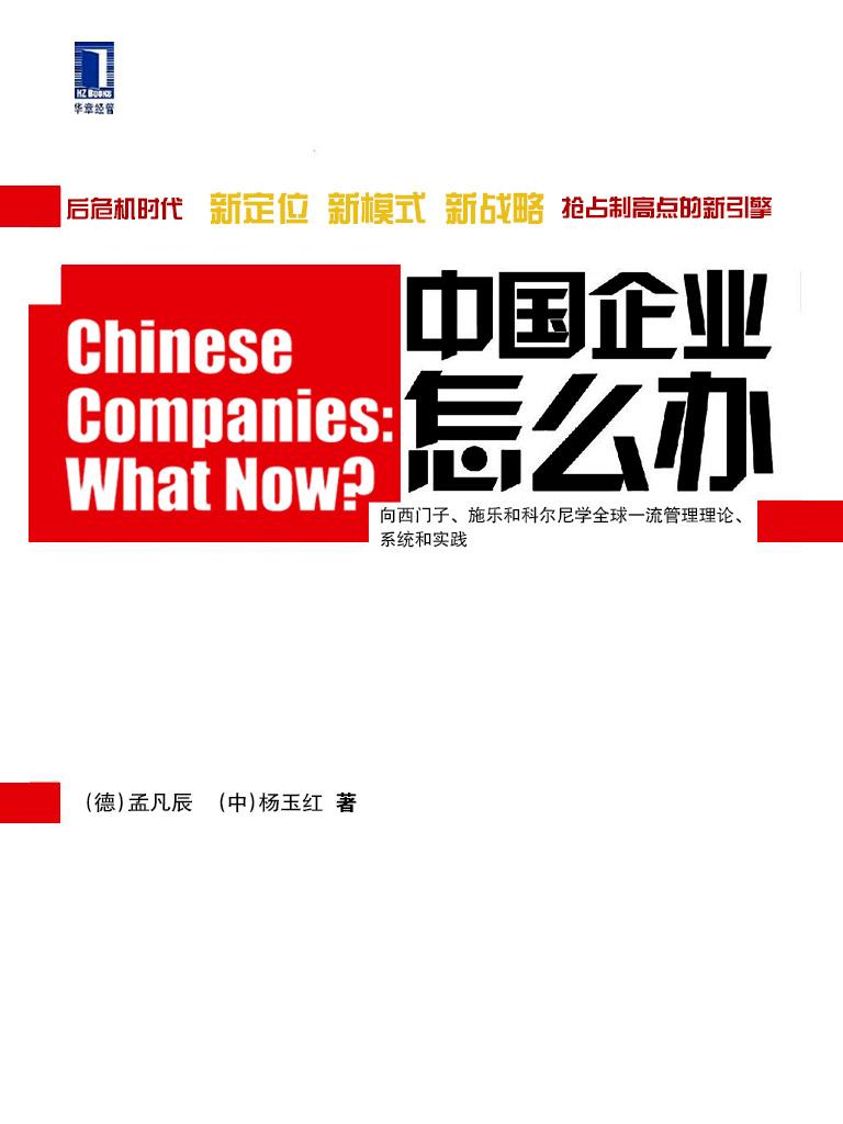 中国企业怎么办