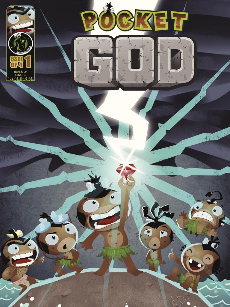 口袋上帝 Pocket God: Vol.1(英文版)