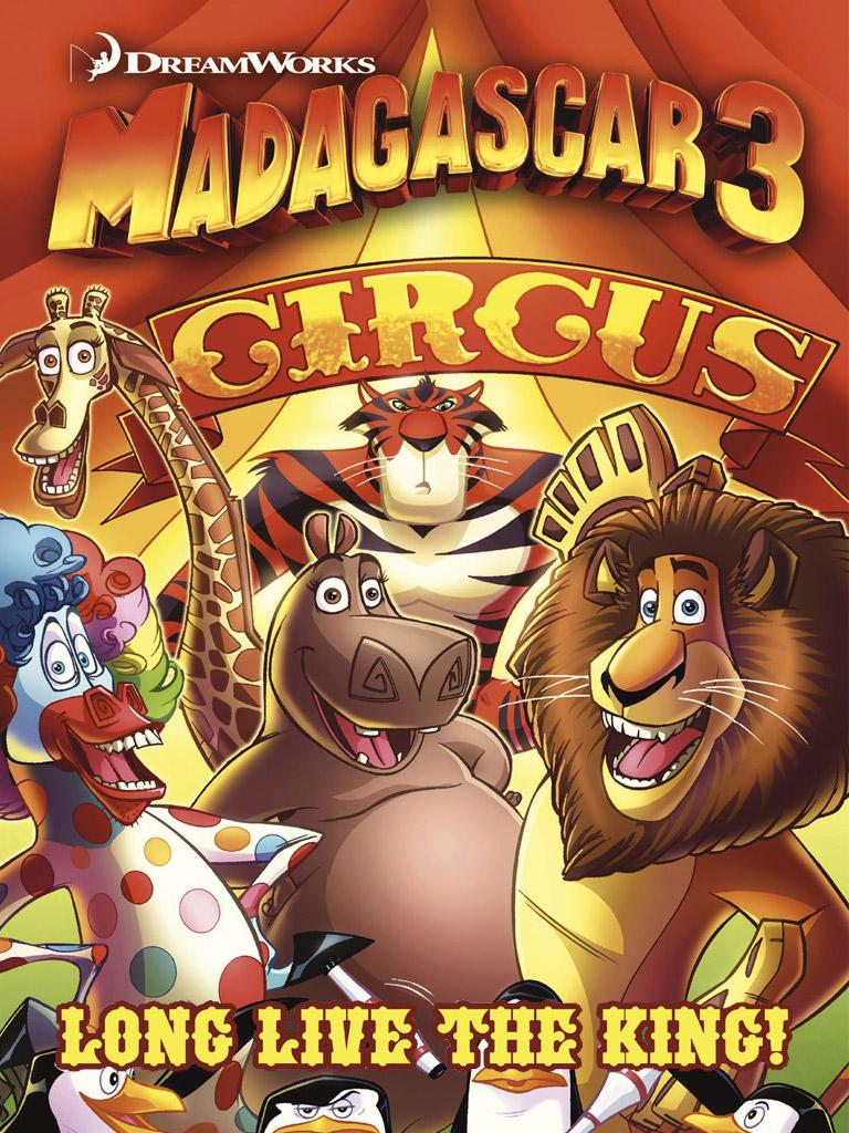 Madagascar 3: Long Live the King Prequel(马达加斯加 英文版)