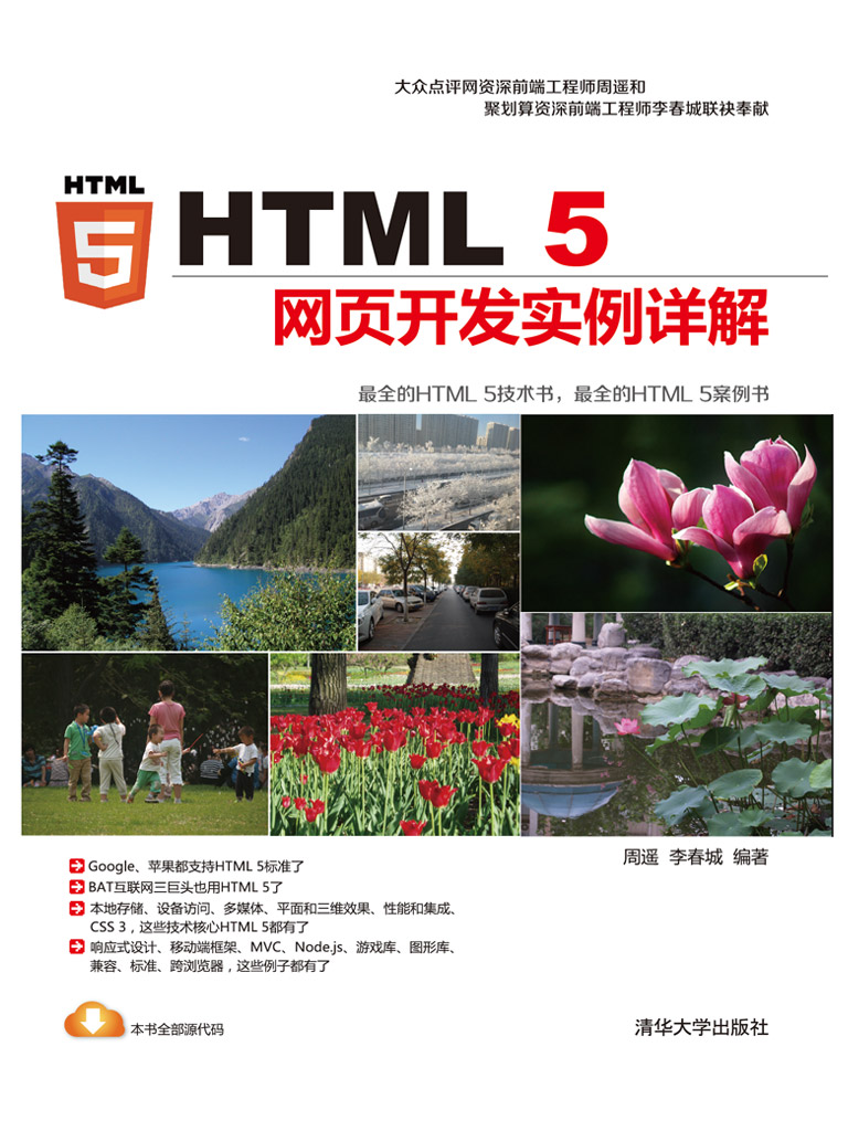 HTML 5网页开发实例详解