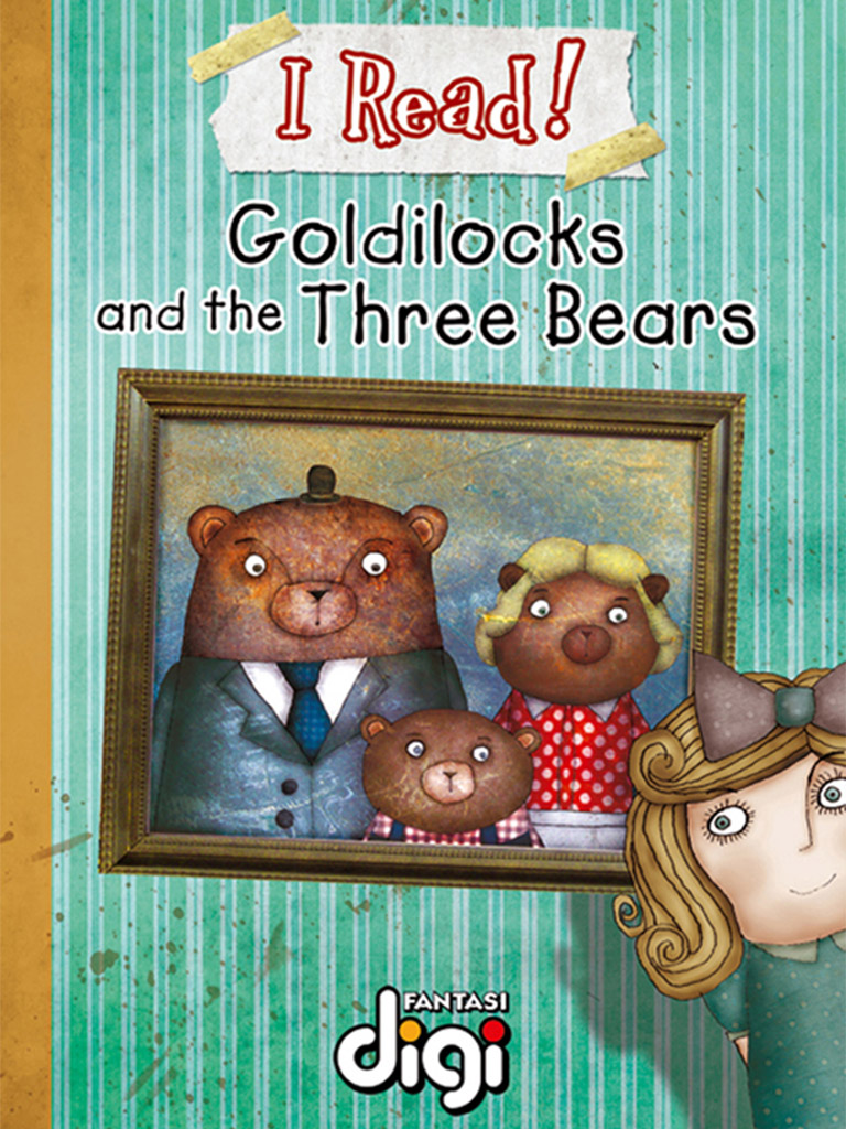 我阅读!金发姑娘和三只熊 I Read! Goldilocks and the Three Bears(英文版)