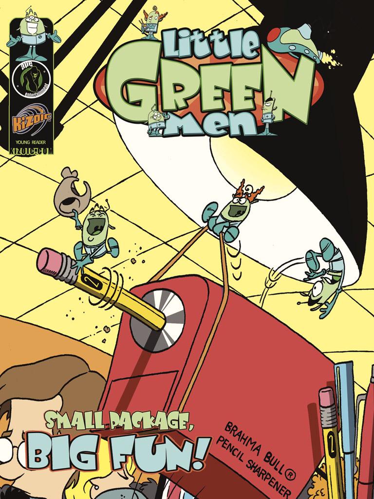 Little Green Men Vol. 3 Small Package Big Fun