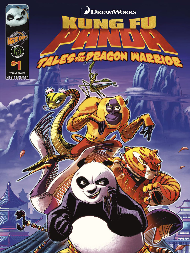 Kung Fu Panda: Tales of the Dragon Warrior(功夫熊猫 英文版)