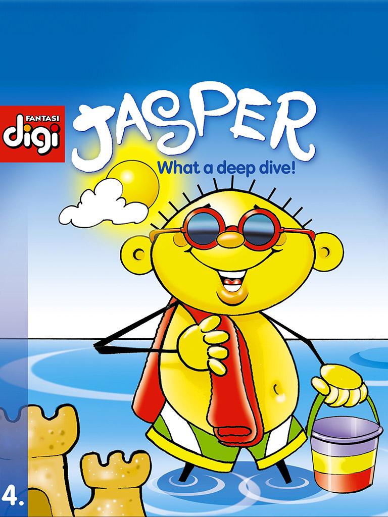 贾斯珀系列1:多么深的潜水!Jasper series 4 - What a deep dive!(英文版)