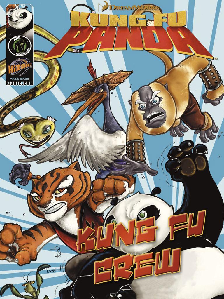 Kung Fu Panda: Kung Fu Crew(功夫熊猫 英文版)