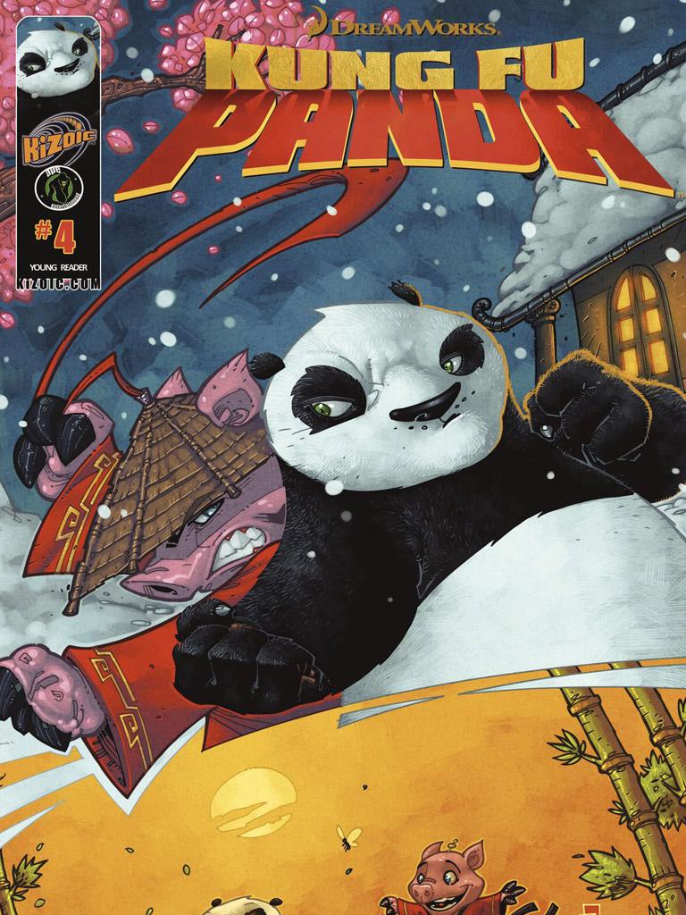 Kung Fu Panda Vol.1 Issue 4(功夫熊猫 英文版)