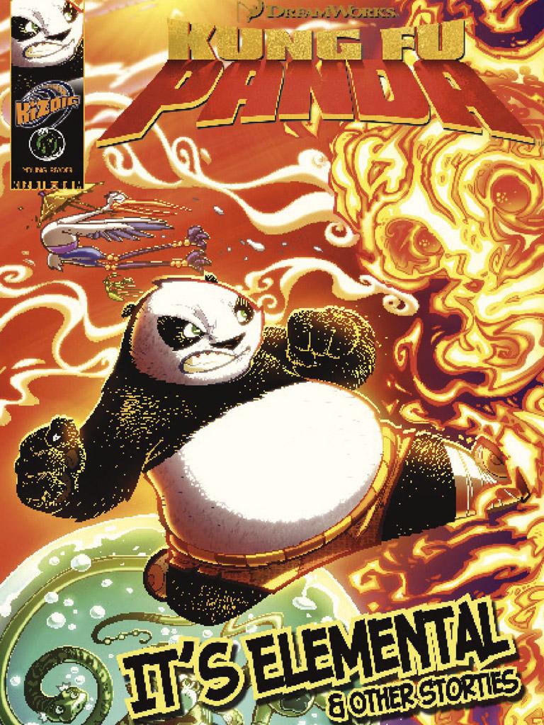 Kung Fu Panda: It's Elemental(功夫熊猫 英文版)