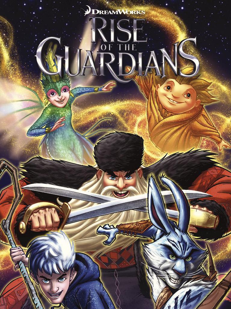守护者联盟 Rise of the Guardians: Hidden Truth and Other Stories(英文版)