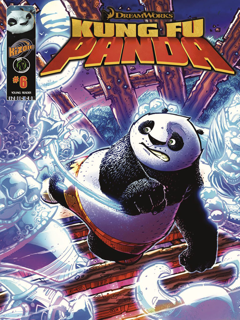 Kung Fu Panda Vol.1 Issue 6(功夫熊猫 英文版)