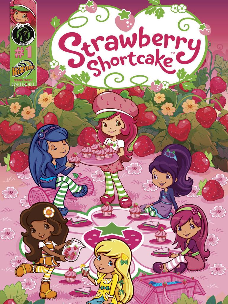 草莓女孩 Strawberry Shortcake: Berry Fun Volume 1(英文版)