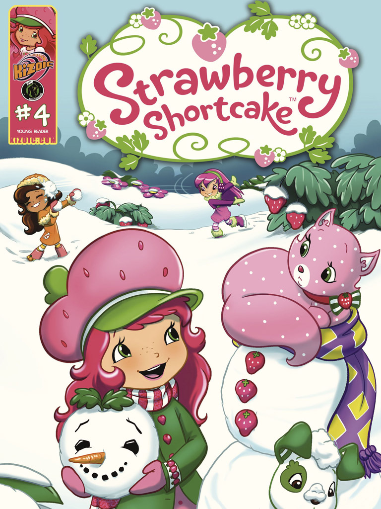 草莓女孩 Strawberry Shortcake: Berry Fun Volume 4(英文版)