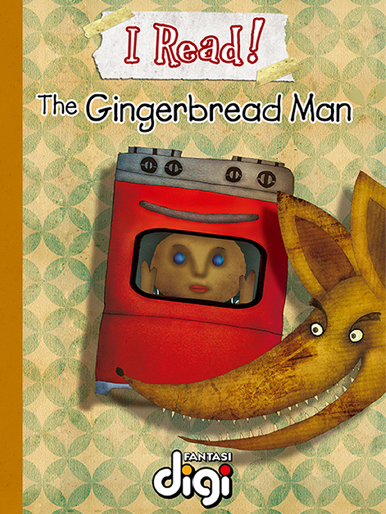 我阅读!姜饼人 I Read! The Gingerbread Man(英文版)