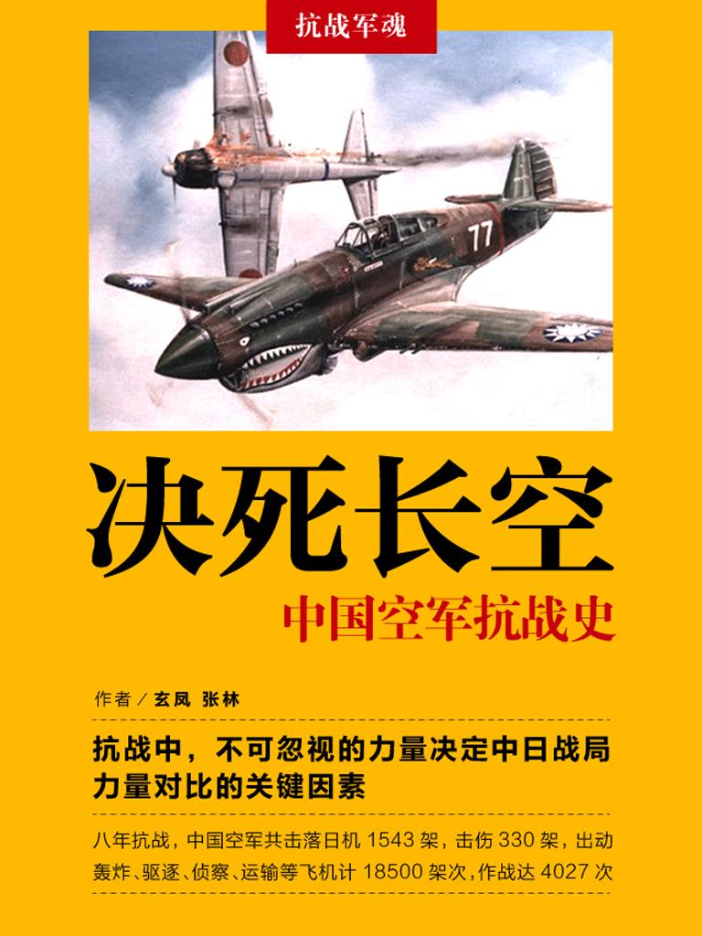 决死长空:中国空军抗战史