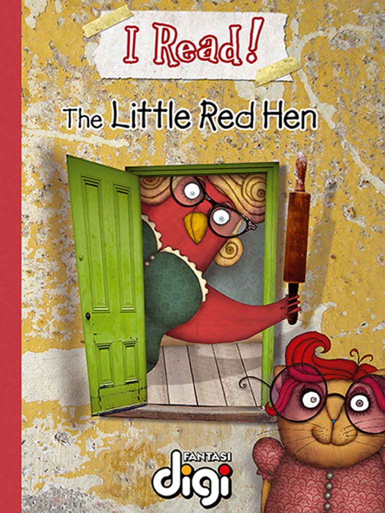 我阅读!红色小母鸡 I Read! The Little Red Hen(英文版)
