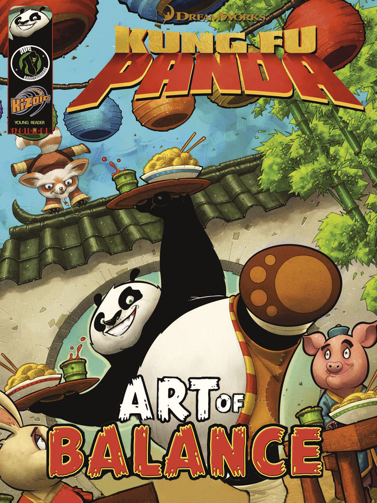 Kung Fu Panda: Art of Balance(功夫熊猫 英文版)